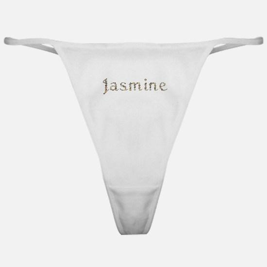 Jasmine Seashells Classic Thong
