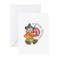 BOUNTIFUL BLESSINGS Greeting Cards