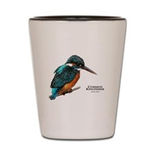 Common Kingfisher Shot Glass