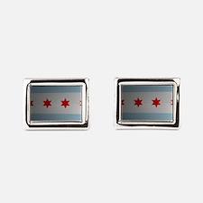 Chicago 773 Rectangular Cufflinks