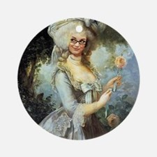 Marie-Antoinette 2015 Round Ornament