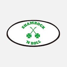 Shamrock 'n Roll Patch