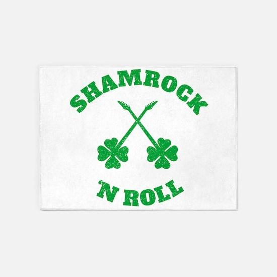 Shamrock 'n Roll 5'x7'Area Rug