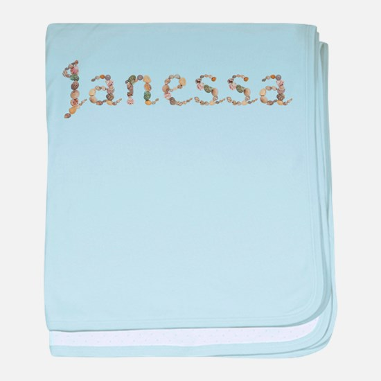 Janessa Seashells baby blanket