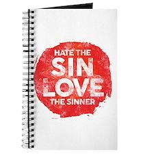 Hate the Sin, Love the Sinner Journal