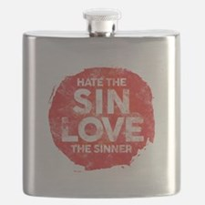 Hate the Sin, Love the Sinner Flask