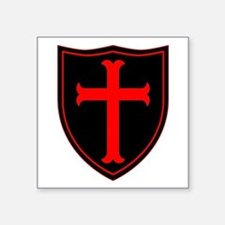 Crusaders Cross - Seal team 6 - RB Sticker