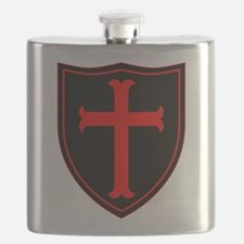 Crusaders Cross - Seal team 6 - RB Flask