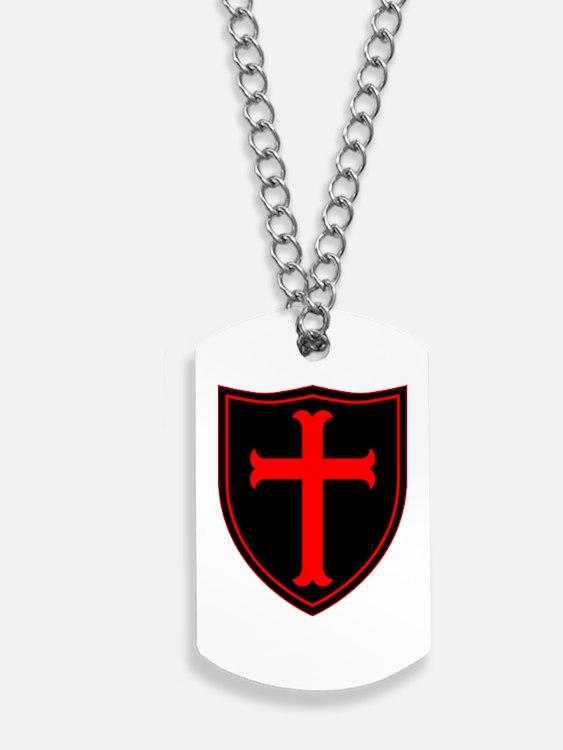 Crusaders Cross - Seal team 6 - RB Dog Tags