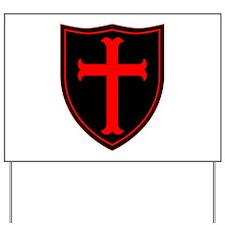 Crusaders Cross - Seal team 6 - RB Yard Sign