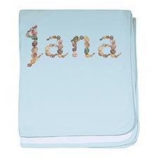 Jana Seashells baby blanket