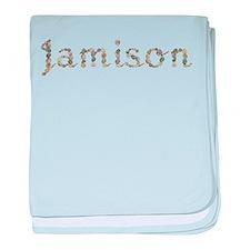 Jamison Seashells baby blanket