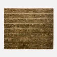 Hieroglyphics. Throw Blanket