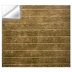 Hieroglyphics. Wall Decal