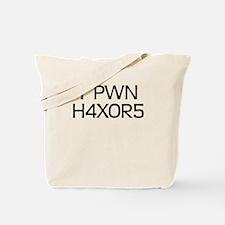 'H4X0R5' Tote Bag