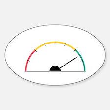 Speed Gauge Decal