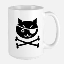 PIRATE CAT (BLK) Mug