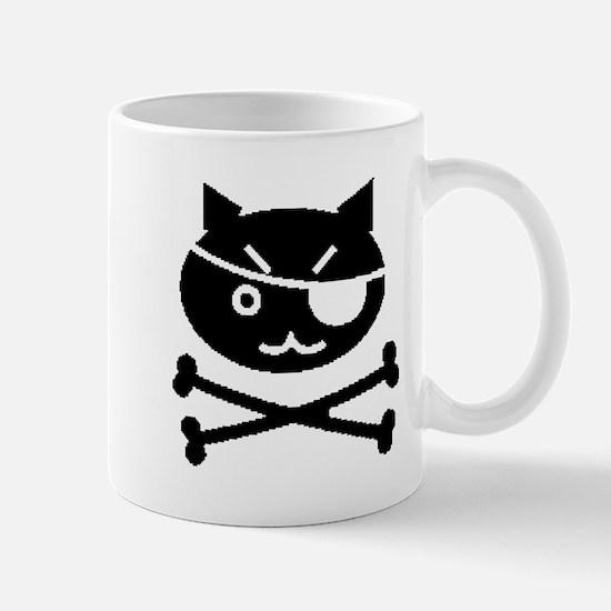 PIRATE CAT (BLK) Mug