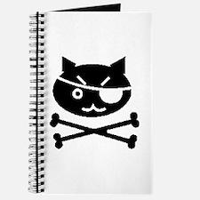 PIRATE CAT (BLK) Journal