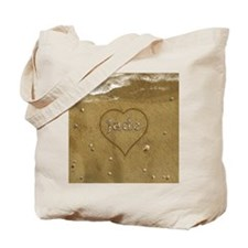 Jade Beach Love Tote Bag