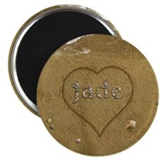 Jade Beach Love Magnet