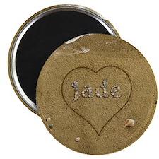 Jade Beach Love Magnet