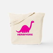 Herbivore Pink Tote Bag