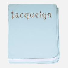 Jacquelyn Seashells baby blanket