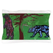 giant bears Pillow Case