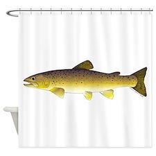 Cute Trout Shower Curtain