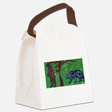 giant bears Canvas Lunch Bag