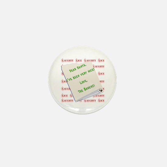 Basenji Nice Mini Button