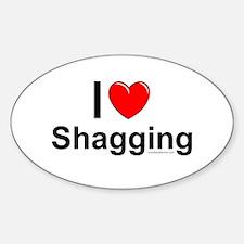Shagging Decal