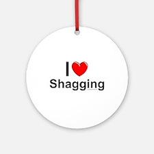 Shagging Ornament (Round)