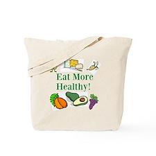 Diet Resolution Week Tote Bag