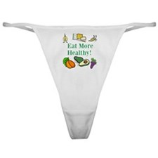 Diet Resolution Week Classic Thong