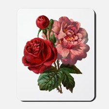 Vintage Rose Mousepad