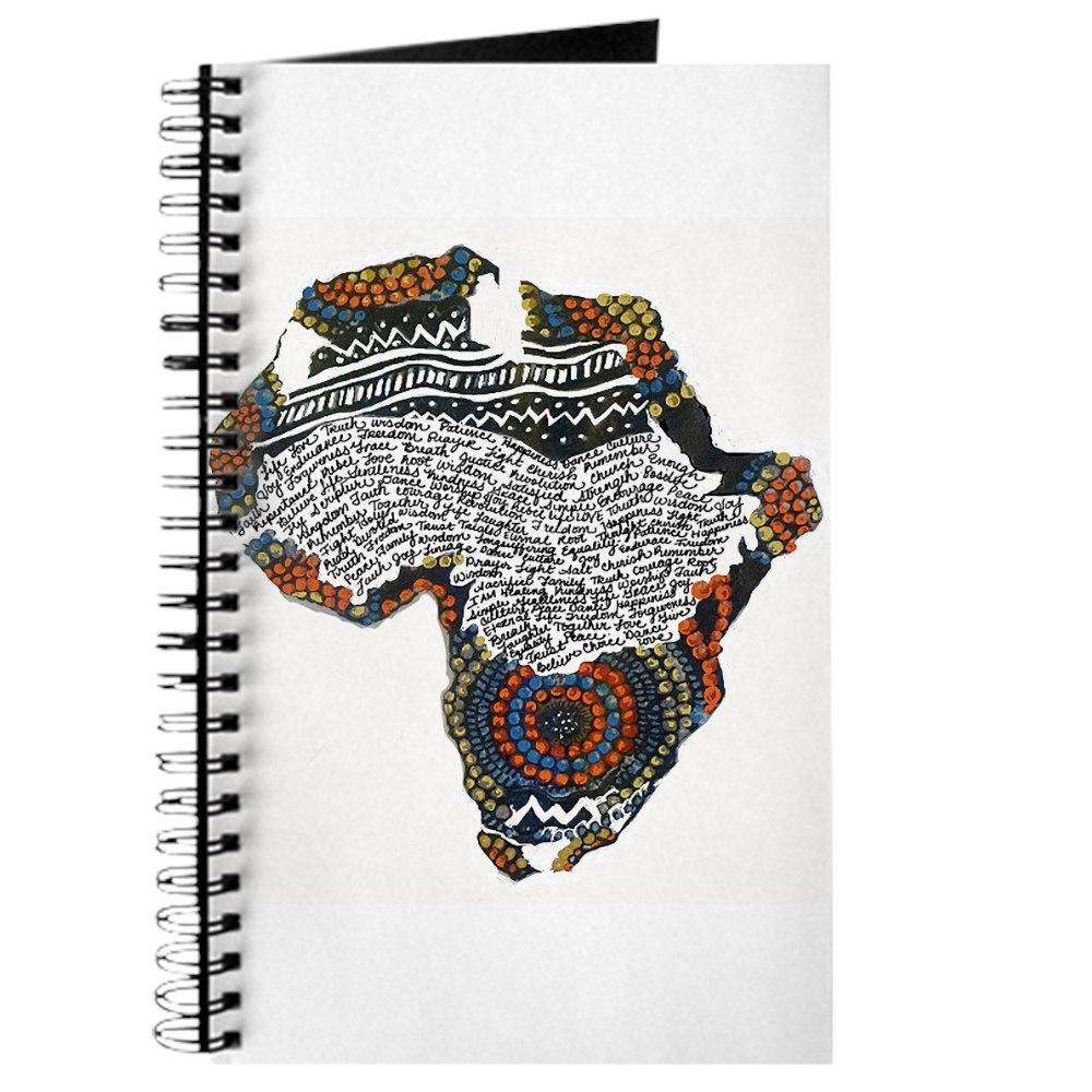CafePress Beaded Africa Journal