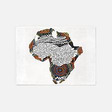 Beaded Africa 5'x7'Area Rug
