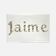 Jaime Seashells Rectangle Magnet