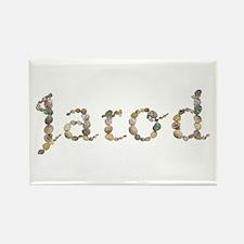 Jarod Seashells Rectangle Magnet