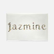 Jazmine Seashells Rectangle Magnet