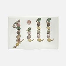 Jill Seashells Rectangle Magnet