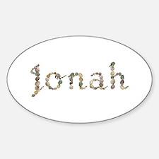 Jonah Seashells Oval Decal