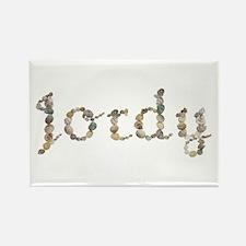 Jordy Seashells Rectangle Magnet
