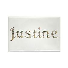 Justine Seashells Rectangle Magnet
