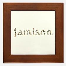 Jamison Seashells Framed Tile
