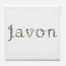 Javon Seashells Tile Coaster
