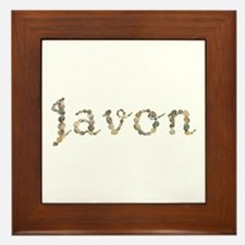 Javon Seashells Framed Tile