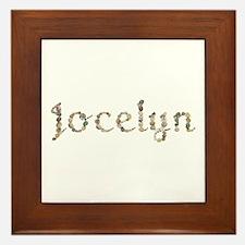 Jocelyn Seashells Framed Tile